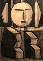 Vodoofigur - abstrakt ∙ 2006 ∙ Tusche über Grafit ∙ 41,5 cm x 29,5 cm