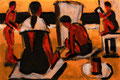 Strand ∙ 2005 ∙ Grafit, Aquarell ∙ 10,5 x 14,8 cm