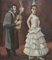 Spanische Tänzerin ∙ 1975 ∙ Öl auf Hartfaser ∙ 71 x 61 cm