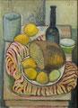 Stilleben mit Zitronen ∙ 1962 ∙ Öl auf Leinwand ∙ 40 x 30 cm