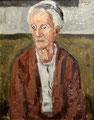 Frauenbildnis I. H. ∙ 1985 ∙ Öl auf Hartfaser ∙ 50 x 40 cm