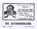 Liedjesteksten uitgegeven  net voor en onder wereldoorlog II