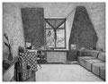 _Zimmer (Tag), 24,0 x 31,0 cm, Bleistift auf Papier, 2005