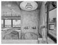 EndoKlinik Cafeteria I, 24 x 31 cm, Bleistift auf Papier, 2011