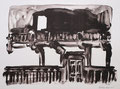 o.T., 31,0 x 41,8 cm, Lithografie, 2002