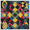 o.T., 55 x 55 cm, Öl auf Baumwolle, 2014
