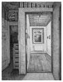 Ausstellungsraum LINDA, 31 x 24 cm, Bleistift auf Papier, 2012