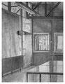GS Mümmelmannsberg Atelier, 31 x 24 cm, Bleistift auf Papier, 2009