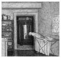 _Küche/Flur, 18,0 x 19,2 cm, Bleistift auf Papier, 2005