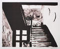 o.T., 30,5 x 36,9 cm, Lithografie, 2002