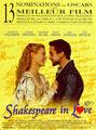 """""""Shakespeare in love"""" (1999) par Sweety"""