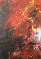 Maria, verlässlich; 68,2x96,9; Acryl auf Papier