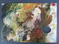 Maria, Im Duett II; 29,5x21,0; Öl auf Palette
