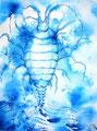 Phytoid 2; 2011; 42 x 30 cm; Acryl, Airbrush auf Papier; 150 €