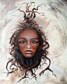 Erde; 2012; 50 x 40 cm; Acryl auf Leinwand; 170 €