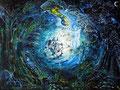 Die Quelle; 1997; 60 x 80 cm; Acryl auf Hartfaserplatte; 920 €