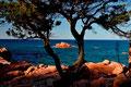 Abendstimmung an der Küste von Cardedu