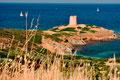 Sarazenenturm im Süden von Sardinien