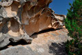 Sandsteinformationen in Capo d'Orso bei Palau (Norden)