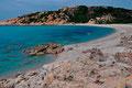 Der Spiaggia Rena Maiore bei Isola Rossa