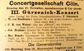 Osterkantate von Max Bruch, Erstaufführung, 17. November 1908 (Rheinische Musik- und Theaterzeitung)