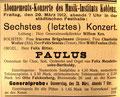 Paulus, 29. März 1912, Koblenz (Rheinische Musik- und Theaterzeitung)