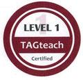 TAGteach Level 1 zertifiziert