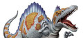 スピノサウルス--ちょっと漫画化してみました