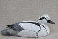 Harle piette oiseau en bois peint