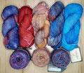 Araucania Ranco - wunderschönes handgefärbtes Garn, uni oder multicolor, nicht nur für Socken, 75% Schurwolle und 25% Polyamid, Lauflänge 344m/100g, Schonwaschgang bis 30°