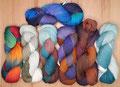 HPKY BFL Lace - handgefärbtes Lacegarn aus 100% Schurwolle (vom Bluefaced Leicester Schaf), Lauflänge 800m/100g
