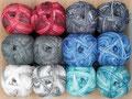 Pro Lana Golden Socks Jeans Look - 4-fach Sockenwolle, bei der die Farben bestens auf alle Jeansstoffe abgestimmt sind, 75% Schurwolle und 25% Polyamid, Lauflänge 420m/100g, Schonwaschgang bis 40°