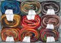 Lang Yarns Dipinto - wunderbare Farbmischungen, sowohl bunt leuchtend als auch klassisch dezent, 50% Schurwolle, 50% Polyacryl, Lauflänge 360m/100g, Schonwaschgang bis 30°