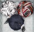 Schoppel Wolle Admiral Stärke 6 - 6-fach Sockengarn uni und melange, das gerne auch für Mütze, Schal und Bekleidung verwendet werden möchte, 75% Schurwolle (superwash) und 25% Polyamid, Lauflänge 400m/150g, Schonwaschgang bis 30°
