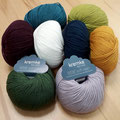 Kremke Soul Wool Bébé Soft Wash - superweiches Merinogarn nicht nur für Baby- und Kinderkleidung, chlorfrei filzfrei ausgerüstet, 100% Schurwolle (Merino), Lauflänge 140m/50g, maschinenwaschbar im Schonwaschgang
