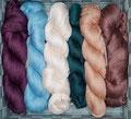 Kremke Soul Wool YakuSi - Luxusgarn mit der Edel-Faser Yak (aus der sehr feinen und weichen Unterwolle gekämmt), mit leichtem Schimmer, 50% Seide, 50% Yakwolle, Lauflänge 800m/100g