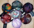 Schoppel Wolle Crazy Zauberball - Jedes Projekt ein Unikat und Kunstwerk! 4-fach Sockengarn, sehr gut für Tücher, Schals oder andere Kleidungsstücke, 75% Schurwolle (superwash) und 25% Polyamid, Lauflänge 420m/100g, Schonwaschgang bis 30°