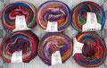 Lang Yarns Greta - feine Merinowolle in Verbindung mit Farbe, für Lace-Modelle und Accessoires oder als Kombigarn, 100% Schurwolle (Merino fine superwash), Lauflänge 290m/50g, Schonwaschgang bis 30°