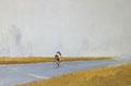 Tweed - Öl auf Leinwand - 60 x 90 cm - 2015