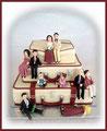 Koffer Hochzeitstorte/ Suitcase Wedding cake