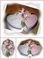 2 Herzen/ Heart cakes
