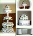 Minicake Hochzeitstorte