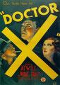 Docteur X (1932/de Michael Curtiz)