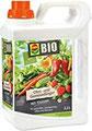 COMPO BIO Obst- und Gemüsedünger für alle Obst- und Gemüsesorten, Natürlicher Spezial-Flüssigdünger, 2,5 Liter