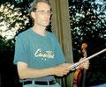 Im Parc de Sceaux, Paris beim Streichquartett August 1998