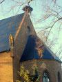 Kirche mit Storchennest