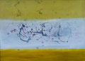 30 x 24 cm, Acryl, Tusche  auf Leinwand