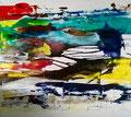 165 x 150 cm/Acryl/Tusche auf Leinwand