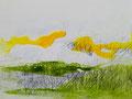 50 x40 cm, Acryl/Tusche/Pigmente auf Karton
