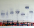 130 x 110 cm, Acryl/Tusche auf Leinwand